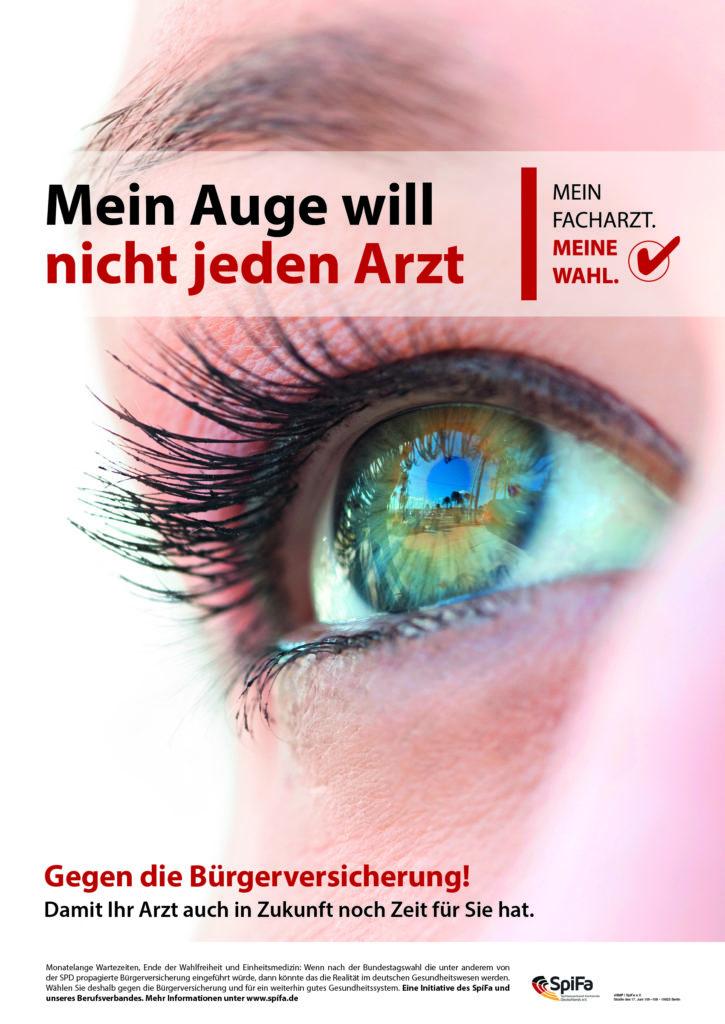 """ALM-SpiFa-Kampagne: """"Mein Facharzt. Meine Wahl."""""""