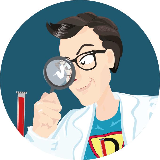 D-Man, der Held der Diagnostik