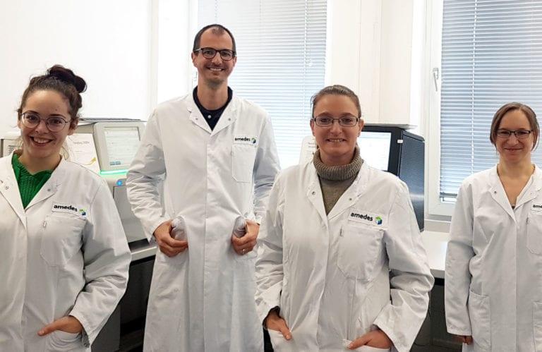 Team der Vollsequenzierung Labor wagnerstibbe