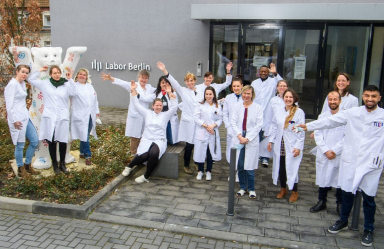 Team der Molekulardiagnostik im Labor Berlin